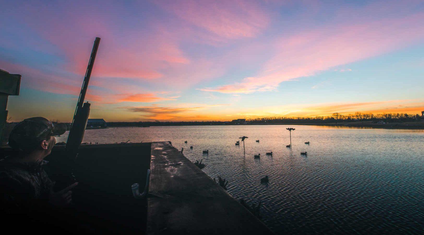 Duck Hunting Lake Whitney TX